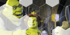 Hra - Sort My Tiles Shrek 2