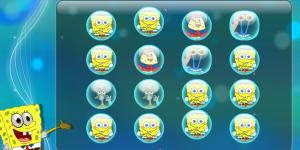 Hra - Twisting Puzzle Spongebob