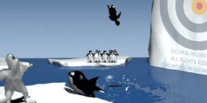 Hra - Yeti Sports - Orca Slap