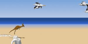 Hra - Yeti Sports - Albatros Overload