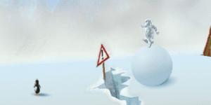 Hra - Yeti Snowball