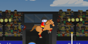 Hra - Pepcid Horse Jumping