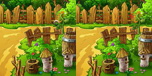 Hra - Sunny Meadow 5 Differences