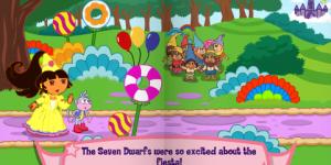 Hra - Dora Fairytale Fiesta
