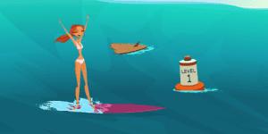 Hra - Surf or Sink