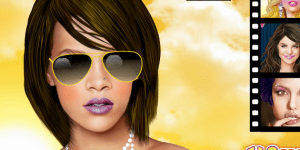 Hra - New Rihanna Celebrity Makeover