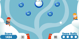 Hra - Snow Ball Pinball 2