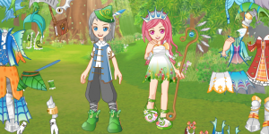 Spring Fairy Couple