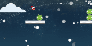 Hra - Angry Birds Merry Christmas