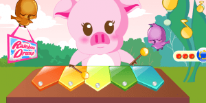 Hra - Piggy Musician