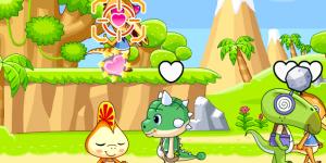 Dinosaur Flirting