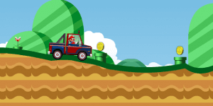 Hra - Mario Truck Ride Game
