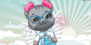 Hra - Cat Goddess Dressup