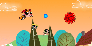 Hra - Powerpuff Girls: Attack of the Puppybots