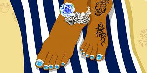 Tessa Summer Feet
