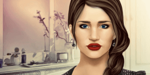 Hra - Rosie Huntington Make-up