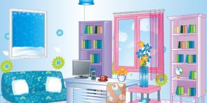 Girly Office Design