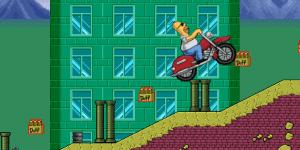 Hra - Homer Motorbike