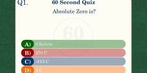 Hra - 60 Second Quiz