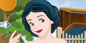 Hra - Snow White Hair Salon Makeover