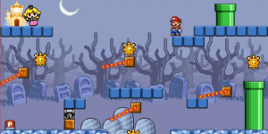 Hra - Mario the Princess Palace