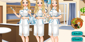 Dress Up Hospital Nurses