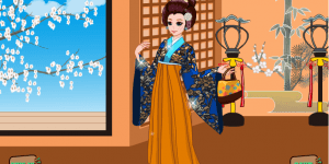 Hra - Kimono Cutie Dress Up