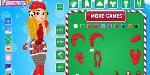 Hra - Christmas Doll Creator