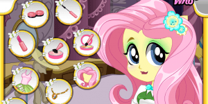 Equestria Girls Fluttershy Makeover