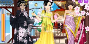 Asian Beauty Dressup