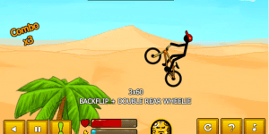 Hra - Stickman Freestyle BMX