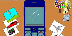 Hra - Mobile Phone Coloring