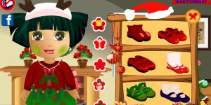 Hra - Dora Christmas Party Dress Up
