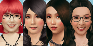 Hra - 2NE1 Make Over