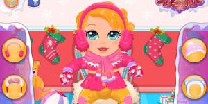 Hra - Baby Snow Date Prep