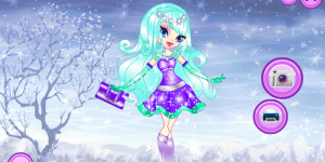 Snowflakes Dress Up