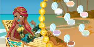Monster High Cleo De Nile Gloom Beach Style