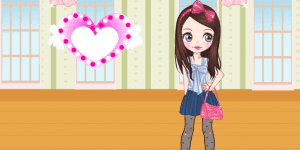Hra - Cute Bow Dress Up Game