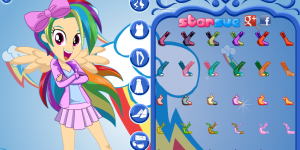 Hra - Miss Loyalty Rainbow Dash
