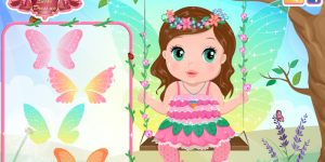 Hra - Baby Bonnie Flower Fairy
