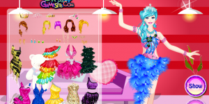 Barbie Salsa Dancer Dress up