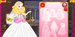 Hra - Apple White Wedding Dress Up