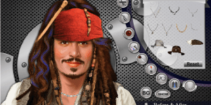 Hra - Johnny Depp Makeover