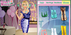 Hra - Fashion Studio Party Outfit