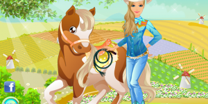 Barbie's Country Horse