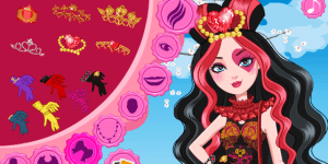Lizzie Hearts Wonderland Makeover