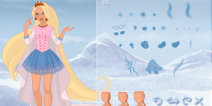 Hra - Snow Queen Dress Up