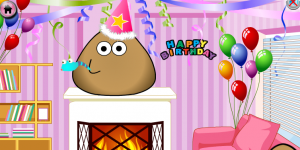 Hra - Pou Birthday Party
