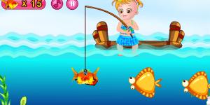 Baby Hazel Fishing Day