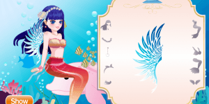 The Mermaid Princess Dress Up